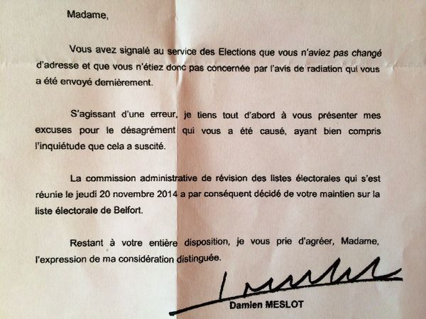 CHRISTOPHE GRUDLER: Radiations abusives aux Glacis : le maire s'excuse