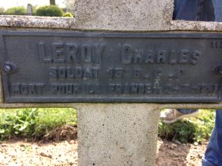 Tombe Charles LEROY Cernay